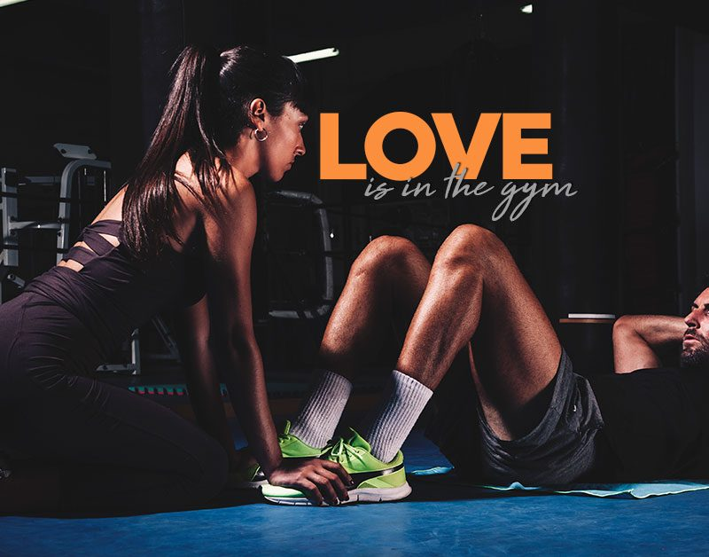 Love is in the gym
